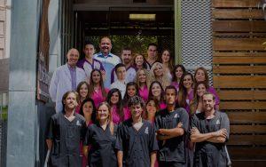 Equipo de la Clínica Luis Baños