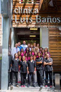 Equipo humano Luis Baños