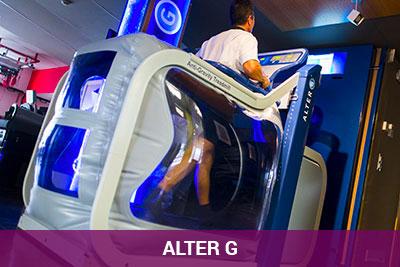 Alter G en Clinica Luis Baños