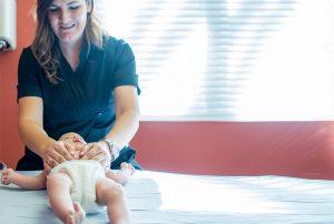 Tratamiento del cólico del lactante en la Clínica Luis Baños