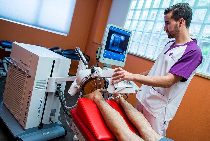 Tratamiento del espolón calcáneo en la Clínica Luis Baños