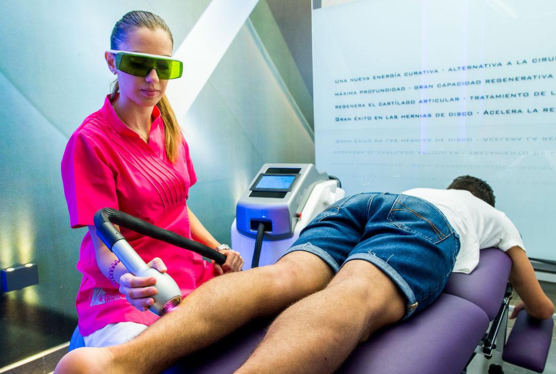 Láser en Clinica Luis Baños