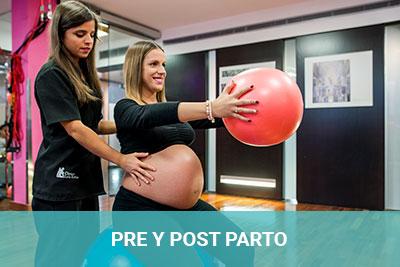 Preparto y postparto en Clínica Luis Baños