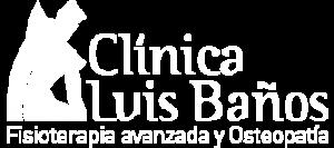 Logo Luis Baños blanco