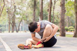 Tratamiento del esguince de tobillo en la Clínica Luis Baños