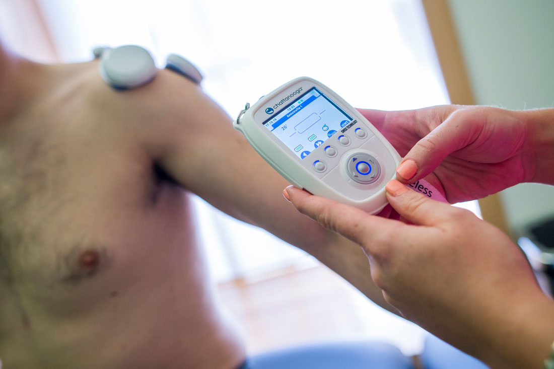 Tratamiento de Hombro congelado en Clínica Luis Baños