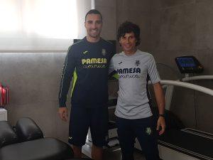 Sergio Asenjo trata su lesión de ligamento cruzado en la Clínica luis Baños