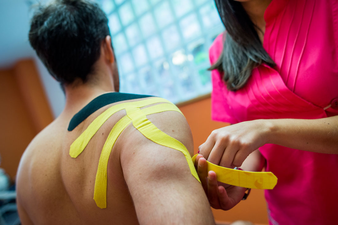 Tratamiento de Tendinopatía Manguito Rotadores en Clínica Luis Baños