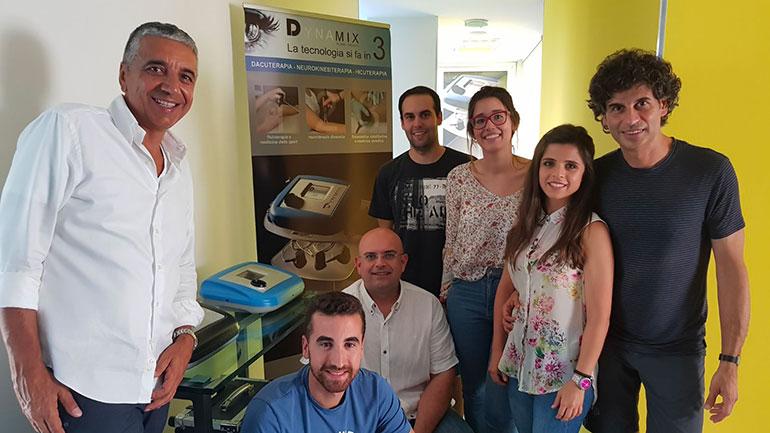 Luis Baños en Bolonia - Neuromodulación y Vibra Plus