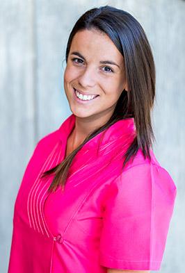 Almudena Moreno, fisioterapeuta en Clínica Luis Baños