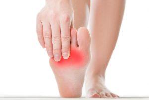 Tratamiento de los calambres en el pie en la Clínica Luis Baños