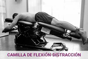 Camilla de flexión-distracción en Clínica Luis Baños de Jaén