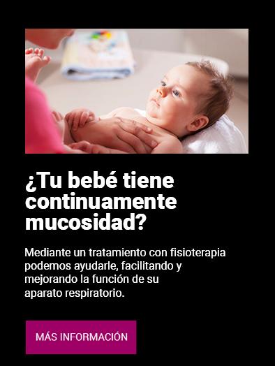 Fisioterapia respiratoria para bebés en Clínica Luis Baños de Jaén