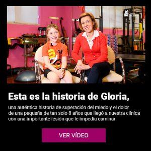 Vídeo testimonio Gloria