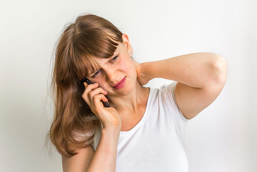 Problemas relacionados con el uso del móvil