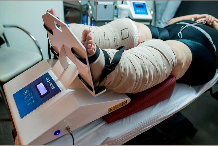Tratamiento del linfedema en Clínica Luis Baños