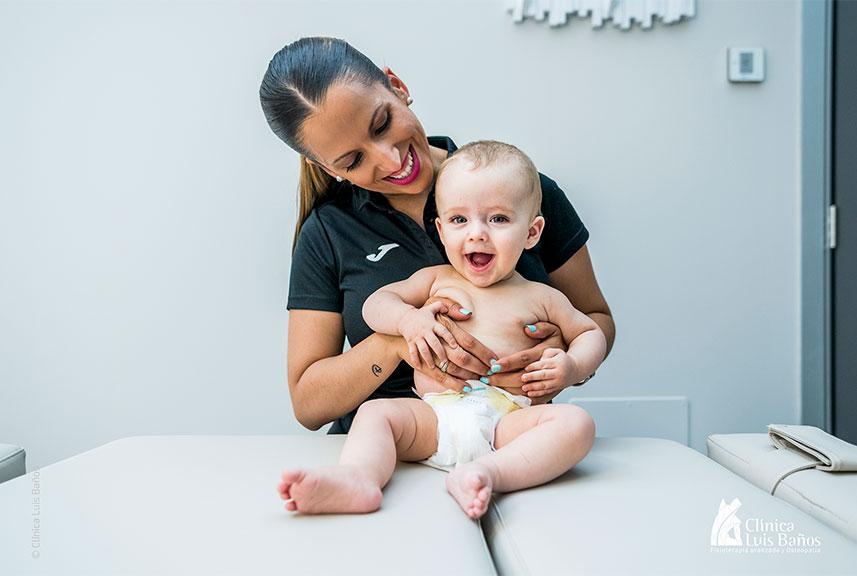 Terapia Manual Pediátrica Integrativa en Clínica Luis Baños