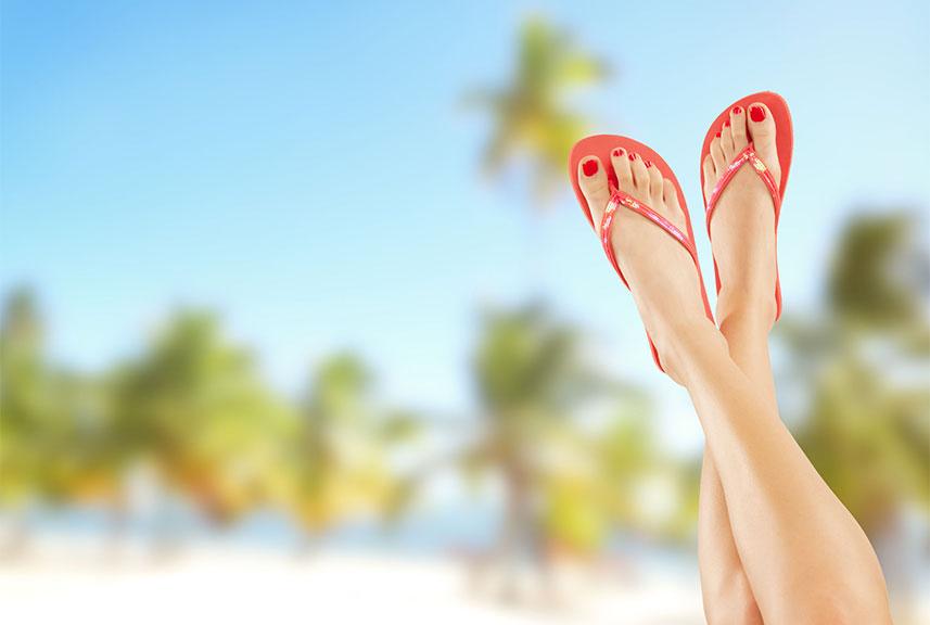 Dolor de pies en verano - Clínica Luis Baños