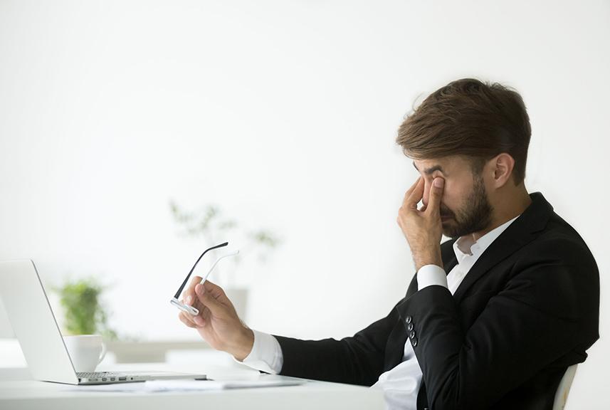 Problemas oculares por la digitalización