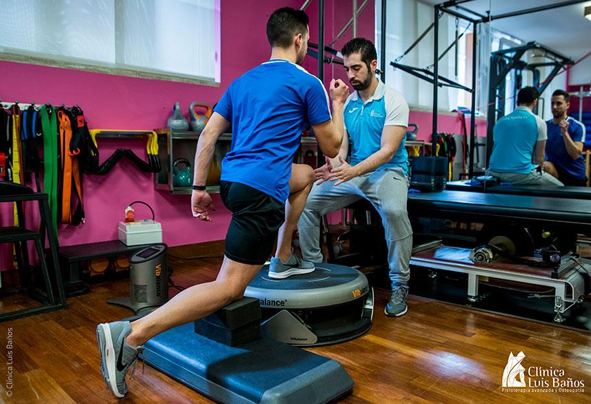 Tratamiento de Tenis Leg en la Clínica Luis Baños de Jaén