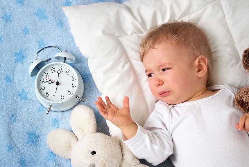 Alteraciones del sueño en niños y bebés