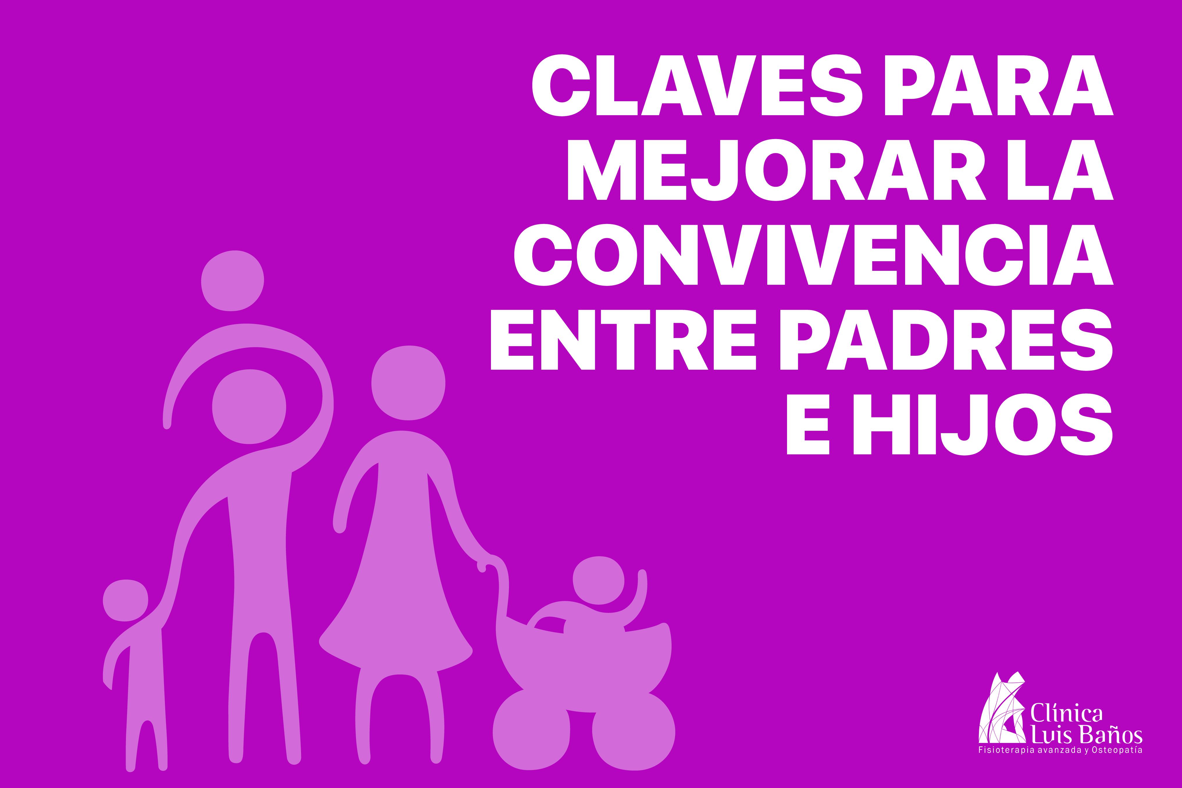 Diseño para la imagen destacada del artículo sobre cómo mejorar la convivencia entre padres e hijos